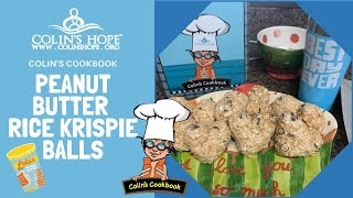 """Peanut Butter Rice Krispy Hearts"" with The Colin's Hope Team and Laura & Clay Metro"