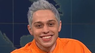 Pete Davidson GUSHES About Ariana Grande on SNL