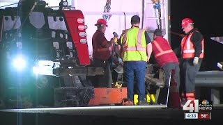 Semi truck crash in OP briefly closes 69 Highway
