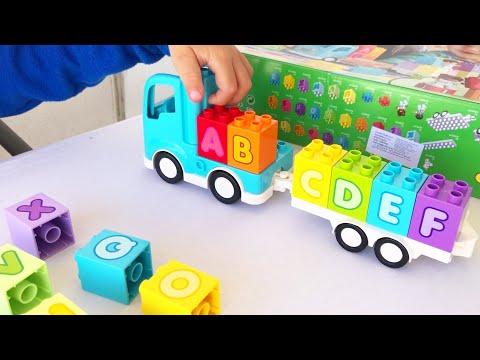 Учим английский алфавит с Лего Дупло