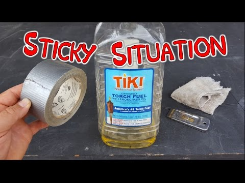 Super Easy Way To Remove Sticky Tape Residue & Glue