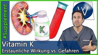 Vitamin K: Erstaunliche Wirkung oder große Gefahr durch Überdosierung?