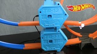 """ТРЕК HOT WHEELS  """"TRACK BUILDER""""  35 деталей от компании Интернет-магазин """"Timatoma"""" - видео 3"""