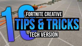 10 Helpful Tech Tips In Fortnite Creative