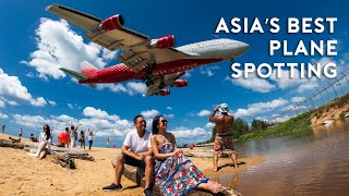 Asia's BEST Plane Spotting (Sun and Snow)