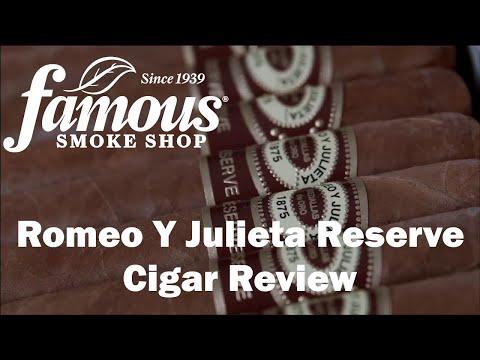 Romeo Y Julieta Reserve video