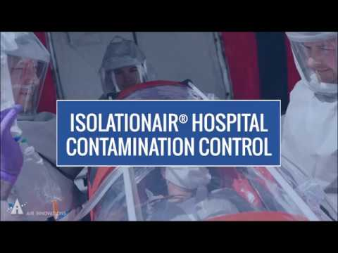 Video thumbnail for IsolationAir® Portable On-Demand Cleanroom