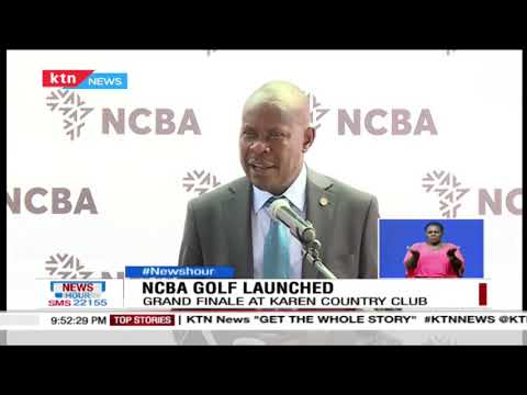 NCBA Golf Launched: Thika sports club to host opening round of the new NCBA golf series