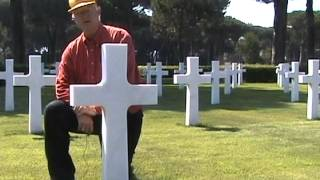 preview picture of video 'Red Dragons in the Anzio-Nettuno Cemetery .mpg'