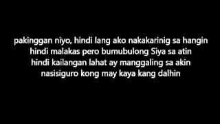 HINDI KAILANGAN By Chito Manaloto (Jhake Vargas) With Lyrics