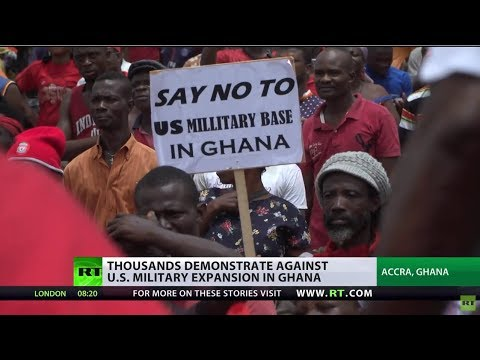 Military Pack: US historian Horne links US military presence in Ghana to oil