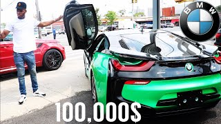 SHOPPING FOR MY DREAM CAR (BMW i8) IM GETTING IT!