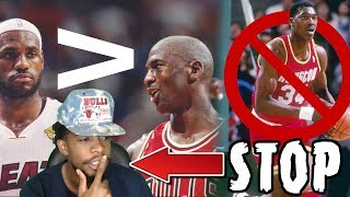 EXPOSING OSN And His TERRIBLE Top 10 NBA Players Of All-Time List