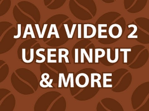 Java Video Tutorial 2