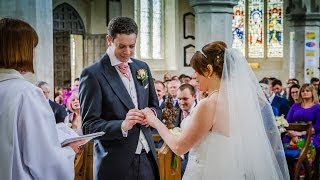 preview picture of video 'Wedding Rehearsal Richard and Anna St Mary's Church Hitchin'