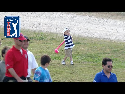 Toddler swing analysis at the Houston Open