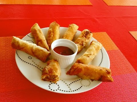 Ground Pork Spring Roll