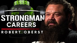 ROBERT OBERST - HOW TO START A STRONGMAN CAREER | London Real