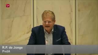 PvdA-fractievoorzitter Ruud de Jonge uit Almere trekt wethouder Soetekouw terug uit college