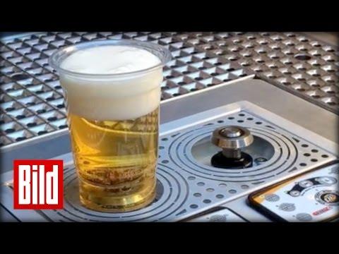 Bier zapfen in 6 Sekunden - Innovation aus den USA ( Pils / saufen / Party )