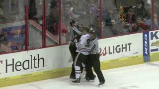 CYCLONES TV: HIGHLIGHTS-  3/1 vs Indy Fuel