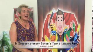 St Gregory's Primary School's year 6 Leaver's Party