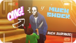 chara goes genocide the sims 4 quest episodes undertale