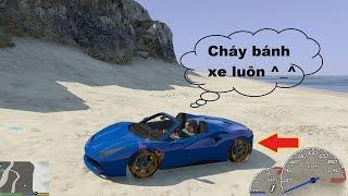 GTA 5 - Test Tốc độ Siêu xe Ferrari 488 Spider (78 tỷ) trong GTA V