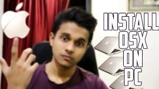 hindi | install osx on windows pc | convert your pc into macbook