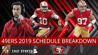 49ers Schedule Breakdown: 2019 NFL Schedule Predictions For The San Francisco 49ers
