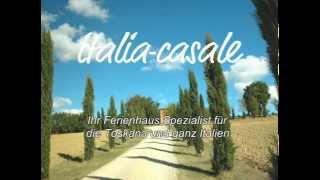 preview picture of video 'Toskana, Ferienhaus, großer Garten und Pool für 10 Personen, nur 13km von Siena 17/207'