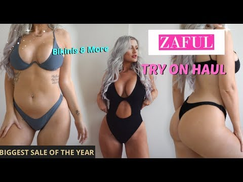 BIGGEST ZAFUL HAUL /// BLACK FRIDAY SALE /// Honest Bikini review