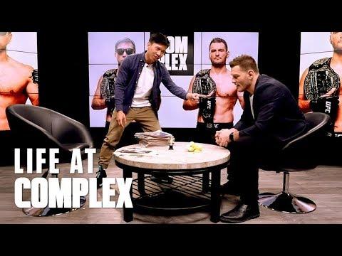 PUTTING UFC CHAMP STIPE MIOCIC THROUGH A STRENGTH TEST! | #LIFEATCOMPLEX