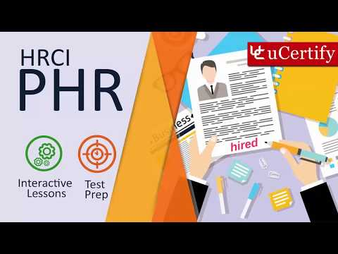 HRCI PHR Certification Exam Guide - YouTube