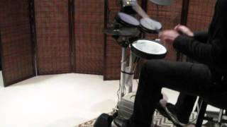 Duran Duran - Buried In The Sand [drum cover] Roland HD-3 V-Drums
