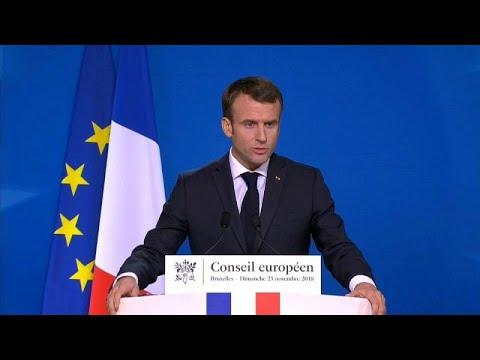 Ανοικοδόμηση της Ευρώπης ζήτησε ο Εμανουέλ Μακρόν