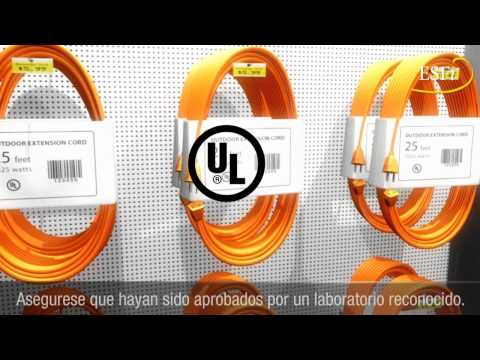 Extension Cord Safety Virtual Demonstration (Spanish)