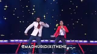 Prabhu Deva and Madhuri Dixit dance