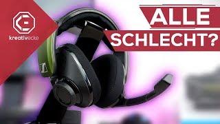 DARUM sind NICHT ALLE Gaming Headsets scheiße! | Sennheiser GSP 550 7.1 Headset im Test