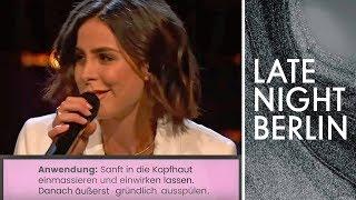 Lena Singt Das Shampoo Etikett  | Late Night Berlin | ProSieben