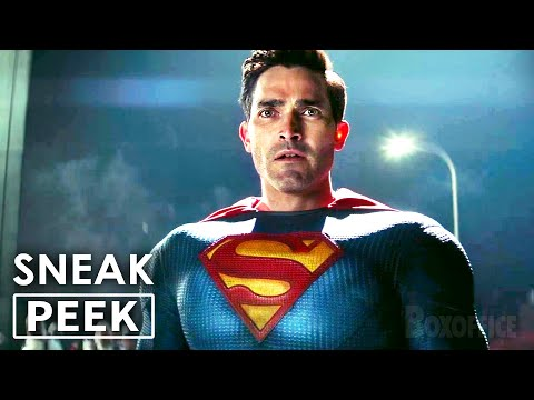"SUPERMAN & LOIS ""Superman Meets with The Army"" Clip NEW"