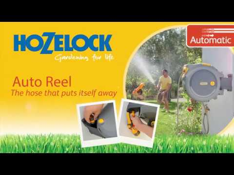 Enrollador manguera  Hozelock Auto Reel