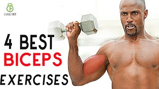 BICEPS EXERCISES WITH DUMBBELL