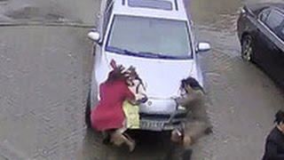 Автоледи, задавившая женщину полицейского, освободилась по амнистии