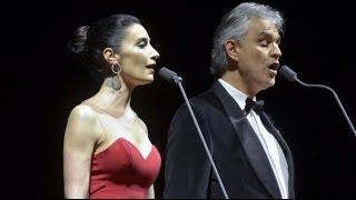 SILA & Andrea Bocelli ''La Vie En Rose'' (22.02.2014) Ülker Sports Arena