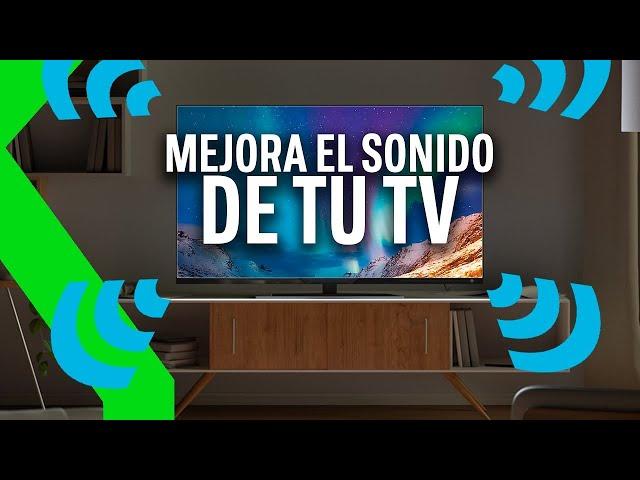 MEJORA EL SONIDO DE TU TV sin gastar UN SOLO EURO!!