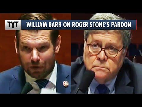 William Barr Defends Trump's Pardon of Roger Stone