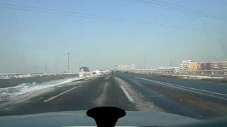 preview picture of video 'Driving along express way ,Tianjin China'