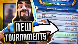 """How New """"GLOBAL"""" and """"PRIVATE"""" Tournaments Work!"""