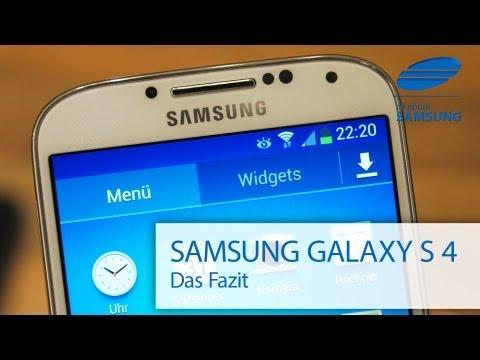 Samsung Galaxy S4 Testbericht Review Teil 4: Das Fazit, Benchmark und Spiele
